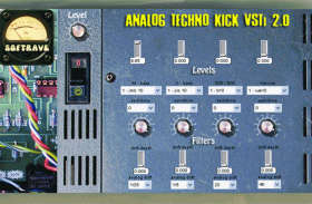 ANALOG TECHNO KICK VSTI V 2.0 virtual kick instrument plugin