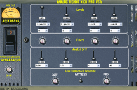 ANALOG TECHNO KICK PRO V 3.0 kick synth plugin instrument
