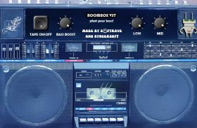 BOOMBOX VST vintage cassete desk emulation turbo bass effect