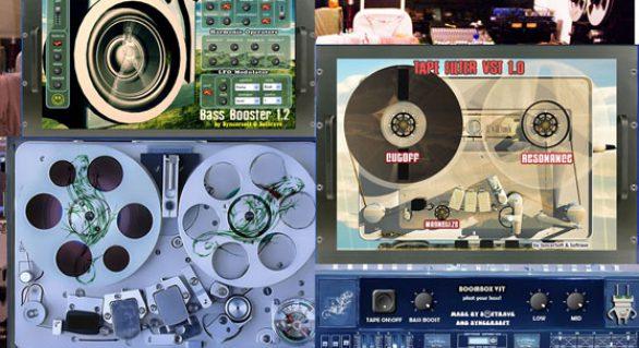 Boost VST Pack BassBooster VST, TapeHarmonizer VST 1.0,TapeFilter VST,Boombox VST
