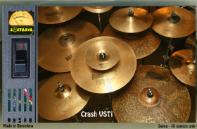 CRASH VSTI 1.3 virtual drums instrument plugin