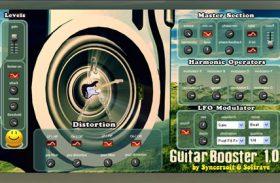 GUITAR BOOSTER VST 1.0 guitar studio effect