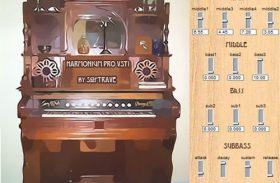 HARMONIUM VSTI 1.0 vintage harmonium organ emulation instrument plugin