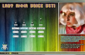 LADY ANNA VOICE VSTI EFFECTS SAMPLE LIBRARY