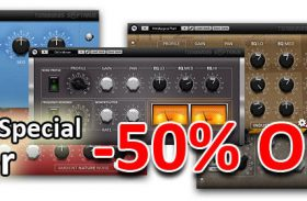 6 Noise VST plugin bundle Analog Noise, Ambient Nature Noise, Industrial Noise, Urban Noise, Tape Noise VST, Birds Noise