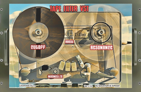 TAPEFILTER VST 1.0 studio Effect tape Emulation plugin