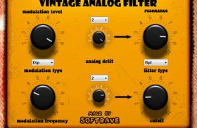 Vintage Analog Filter VST 1.1 Guitar Effect