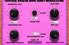 Vintage Analog Ring Shift Modulator VST 1.1 guitar effect