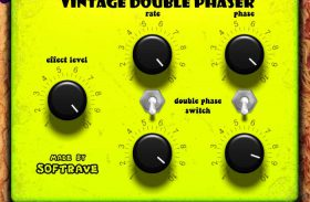 Vintage Double Phaser VST 1.1 guitar effect