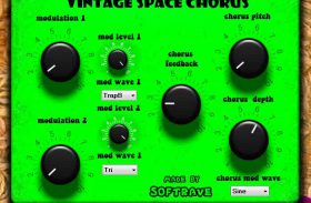 Vintage Space Chorus VST 1.0 guitar effect