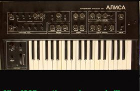 Alice 1387 Analog Vintage Soviet Synth Sample Library