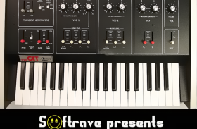 OCTAVE CAT SRM Vintage Analog Synth Sample Library