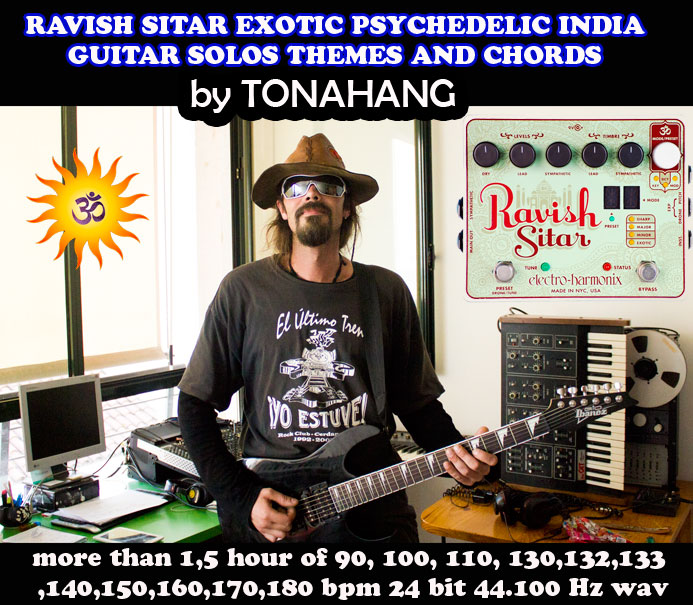 ravish sitar electric guitar solos and chords sample library by tonahang vst vsti synths. Black Bedroom Furniture Sets. Home Design Ideas