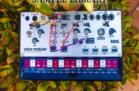KORG Volca Modular  sample library – modular buchla style west coast experimental sound