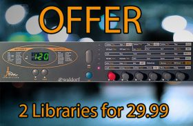 Buy Waldorf Pulse Leads and Chords Kontakt Sample Library and Waldorf Pulse Fat Bass Polyphonic Kontakt Sample Library Instrument together With Discount